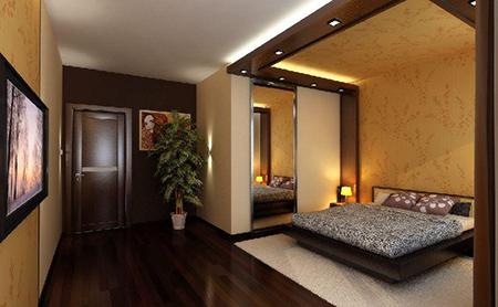 ремонт спальни от компаниии Remont-kvartiry