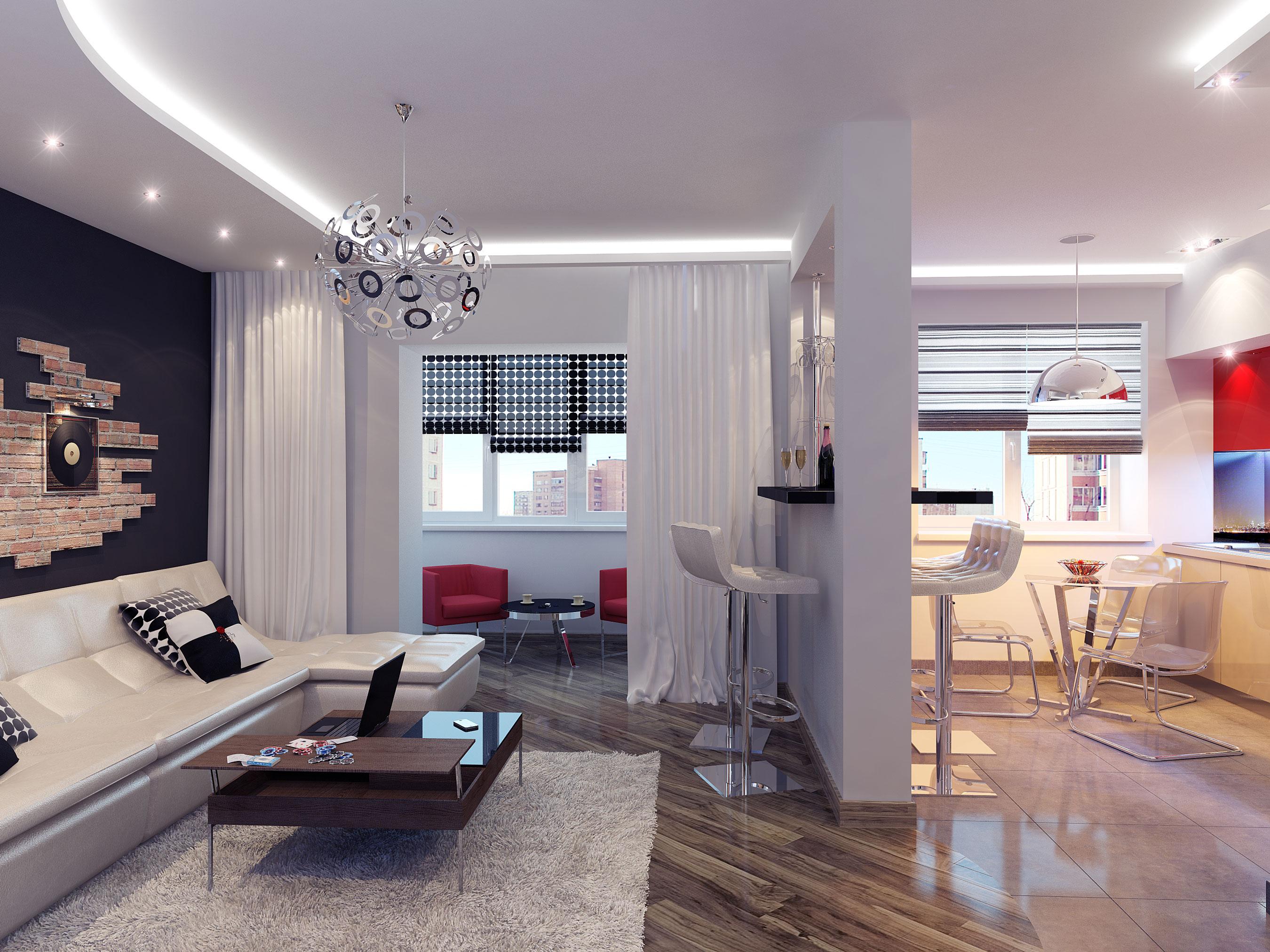 Ремонт однокомнатной квартиры 40 кв.м в новостройке фото своими руками
